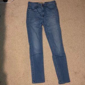Hollister high rise jean leggings